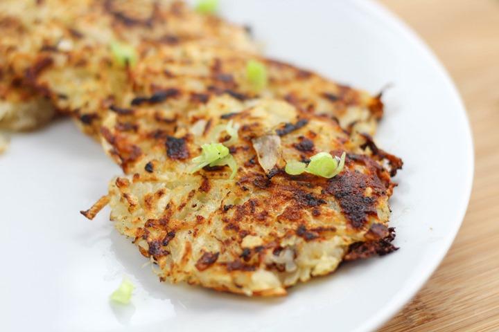 cheese onion potato cakes
