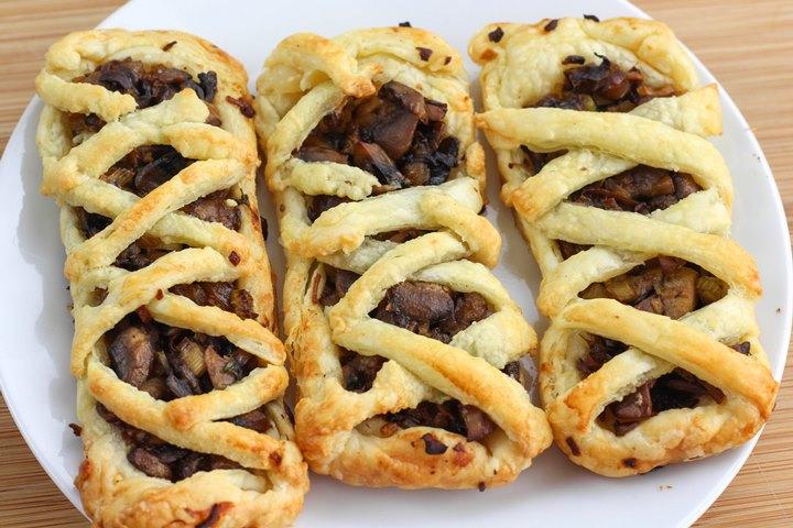 puff pastry mushroom