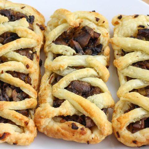 mushroom tarts recipe