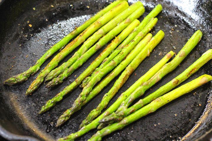 asparagus fried