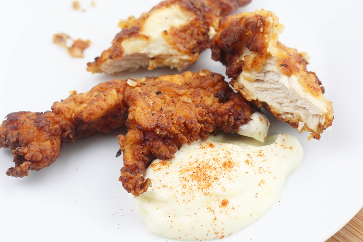 buttermilk tenders with dip