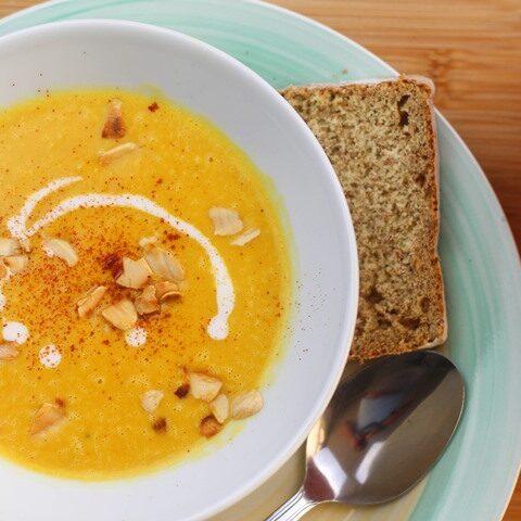 pumpkin soup vegan