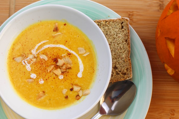 pumpkin soup vegan