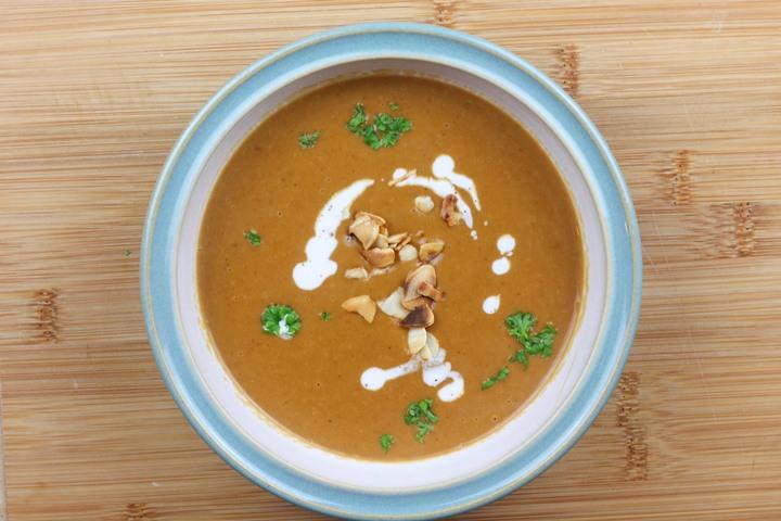 butternut squash soup vegan