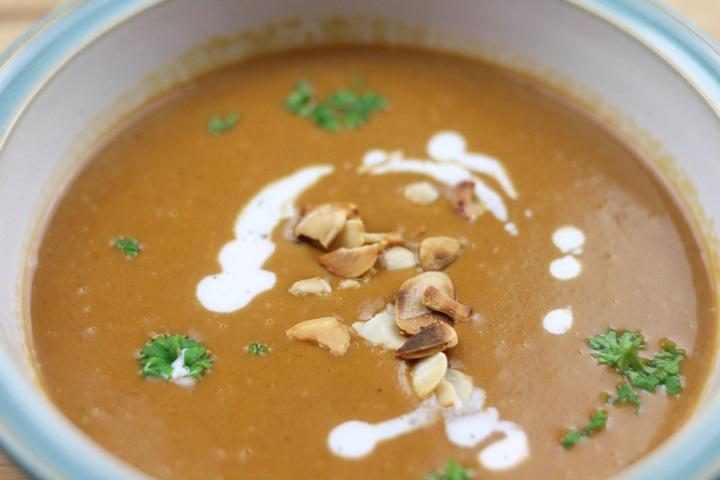 vegan butternut soup