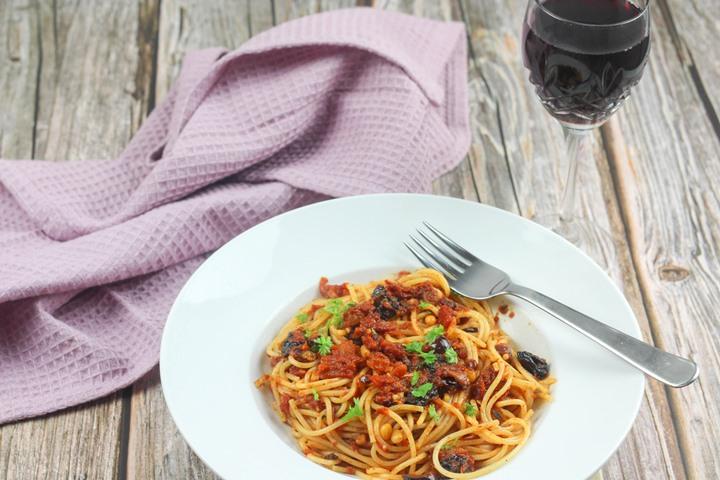 italian anchovy pasta