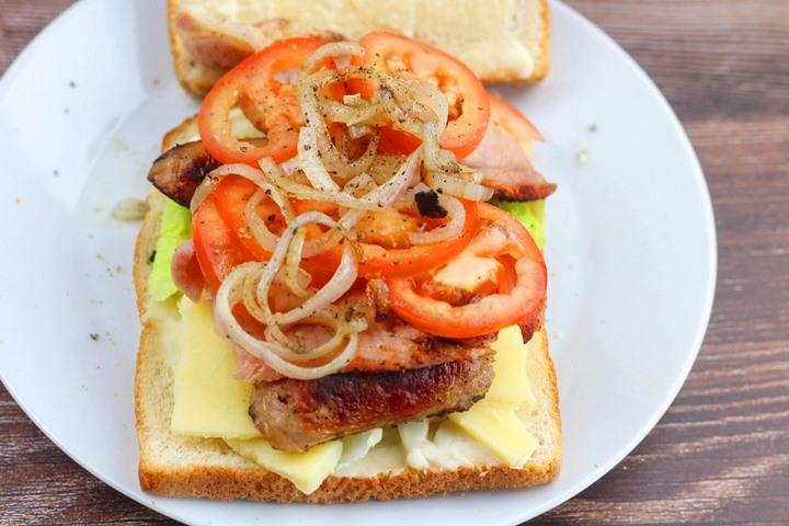 blt plus sandwich