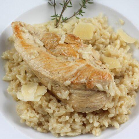Creamy Chicken Risotto Recipe