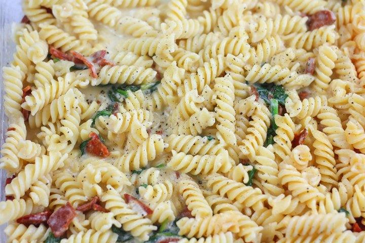 chorizo sauce pasta