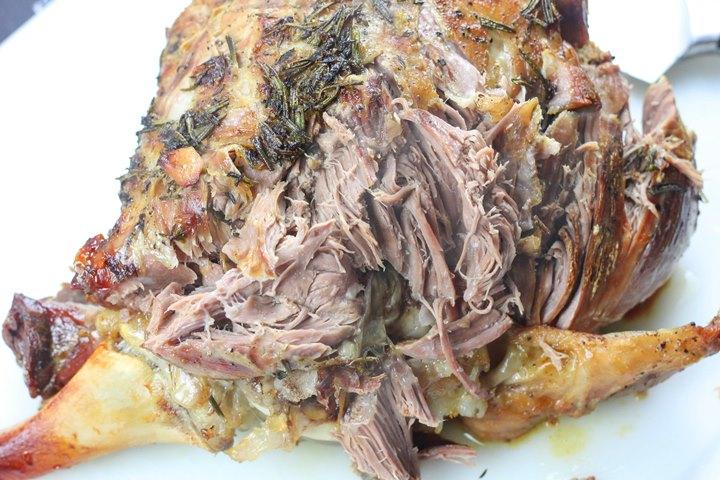 pot roast leg of lamb