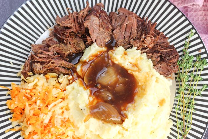 braised beef in slow cooker