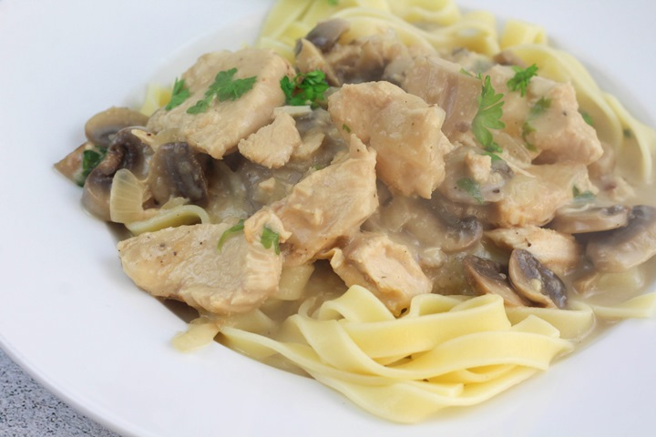 instant pot chicken stroganoff