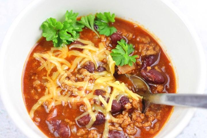 pot of chilli