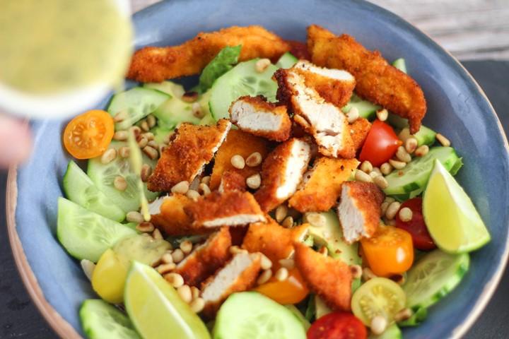 crispy chicken salad dressing