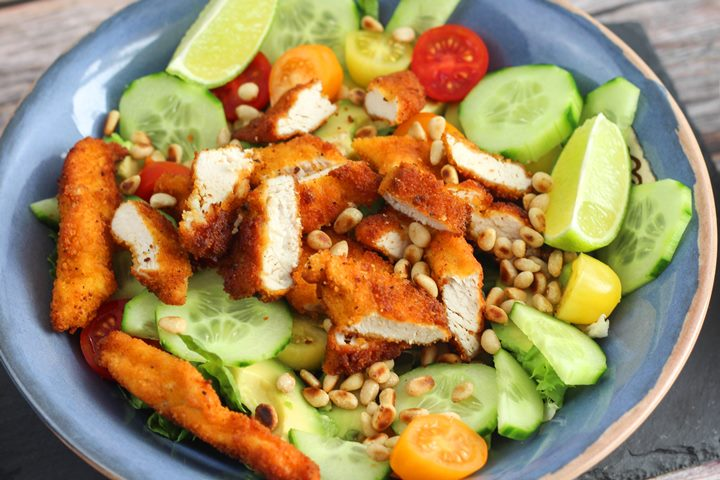crispy chicken salad recipes