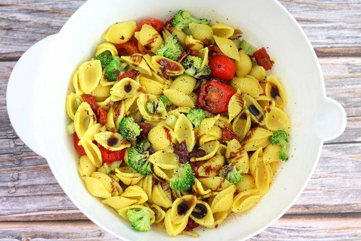 vegan italian salad