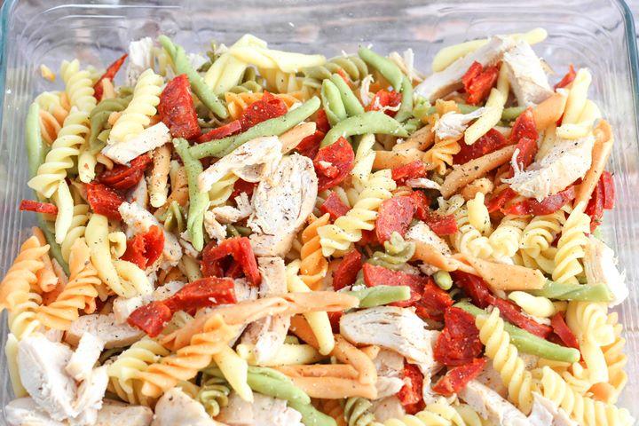 chicken and chorizo pasta creamy