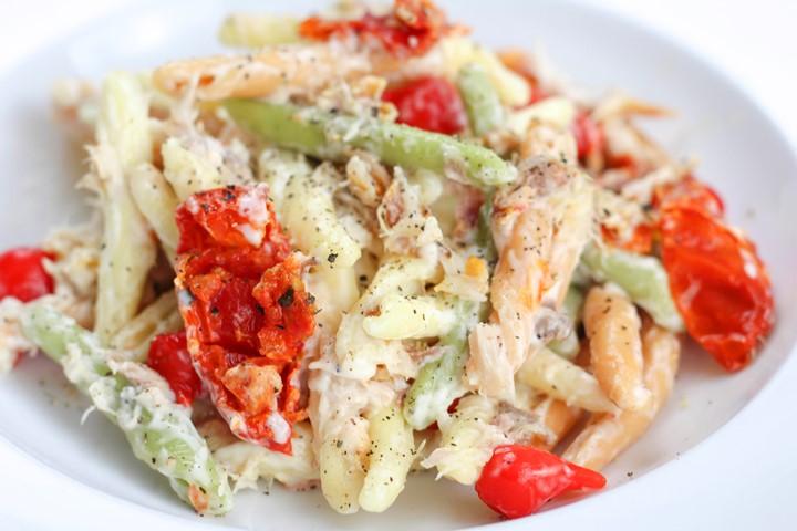 mackerel and pasta