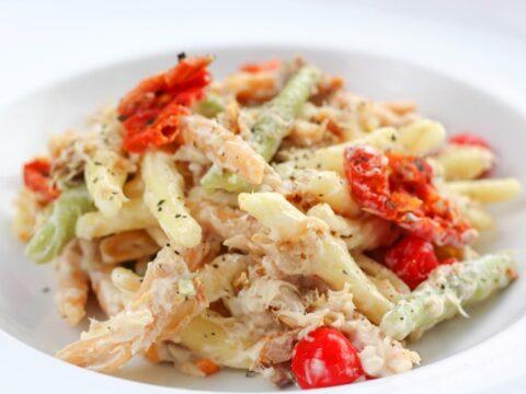 Smoked Mackerel Pasta Salad