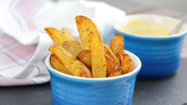 homemade chunky chips