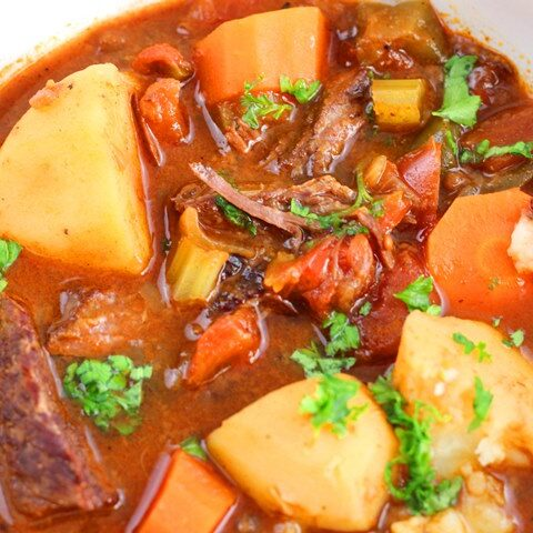 traditional hungarian goulash