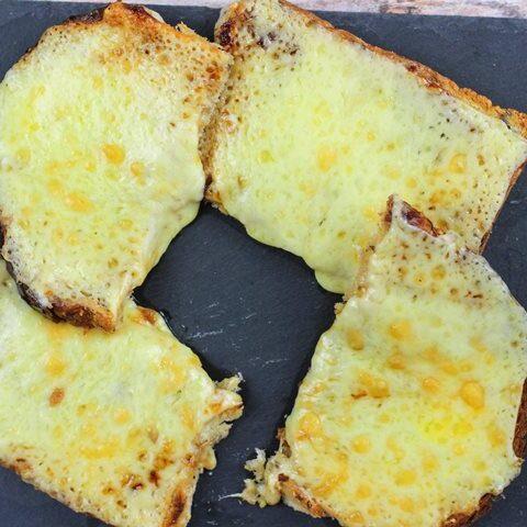 cheese marmite toast